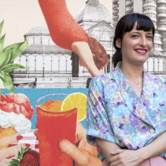 Lara Lars. Ilustradora cartel Veranos de la Villa 2021