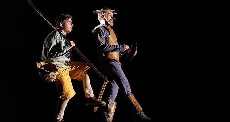 Otro Quijote y más.©corraldecervantes