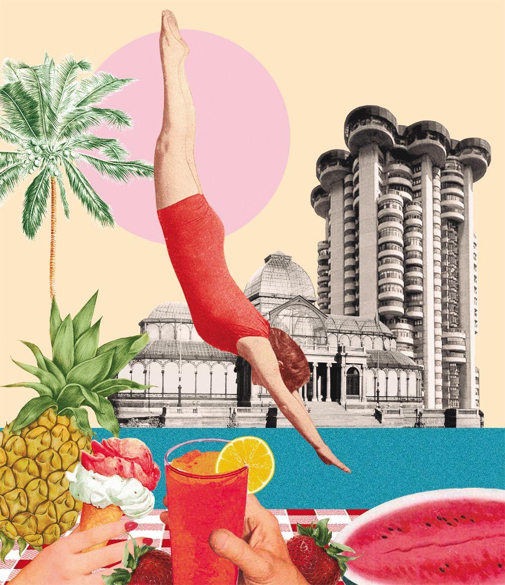 Ilustración de Lara Lars para el cartel de Veranos de la Villa 2021