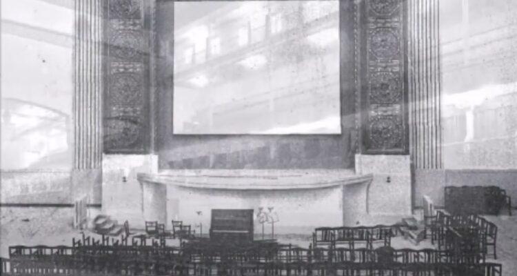 Frontón de Ciudad Lineal rebautizado como Teatro Kursaal