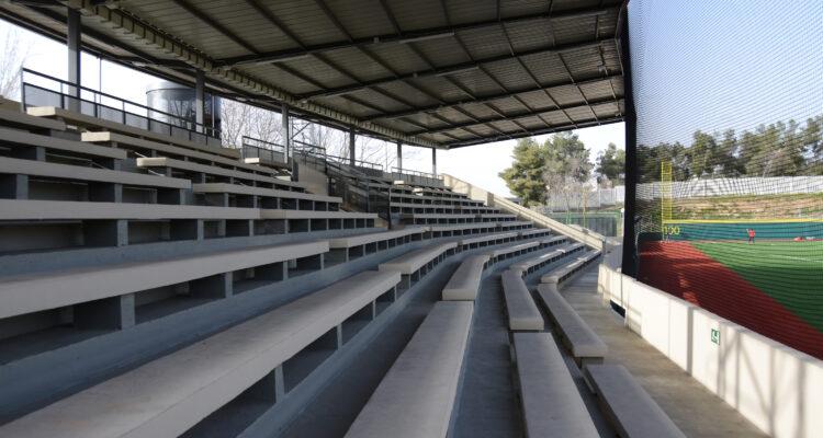 Graderío con capacidad para 2.000 espectadores