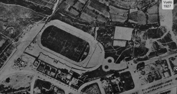 El metropolitano en 1927
