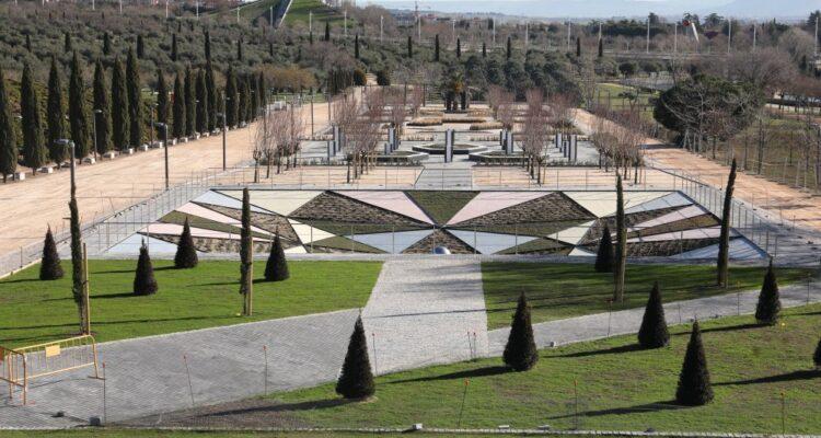 Vista del parque Juan Carlos I