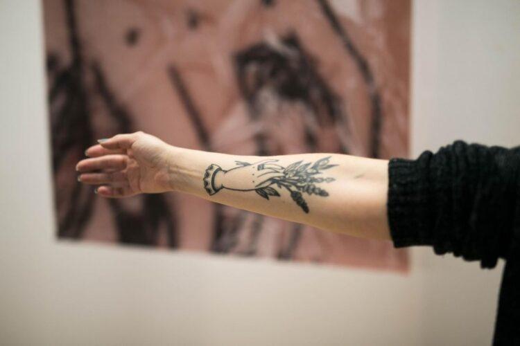 Tatuaje MEMENTOxARGANZUELA_Foto-Estudio Perplejo / ClaudioOca