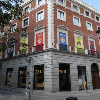 Palacio de Gaviria en la calle Arenal de Madrid