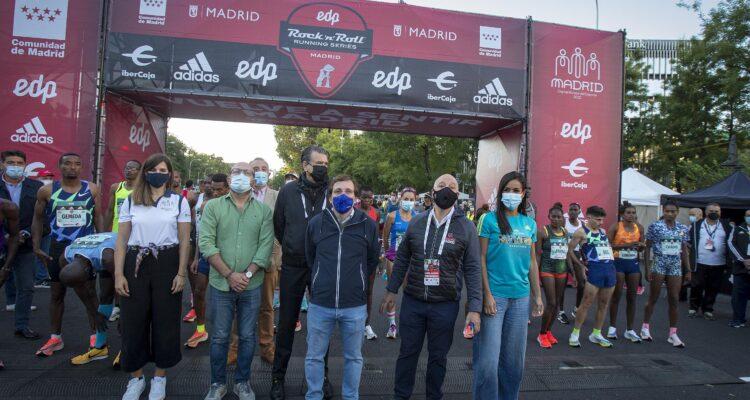 Imagen de la 43ª edición de la Maratón Popular de Madrid - Rock'n Roll Madrid Maratón 2021. Foto ©Miguel Berrocal