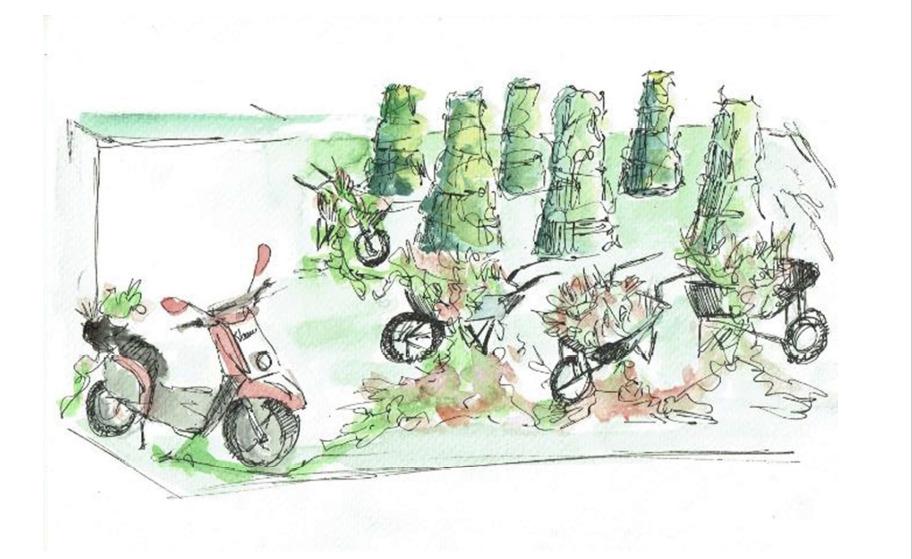 Propuesta de jardín efímero ACCIONA