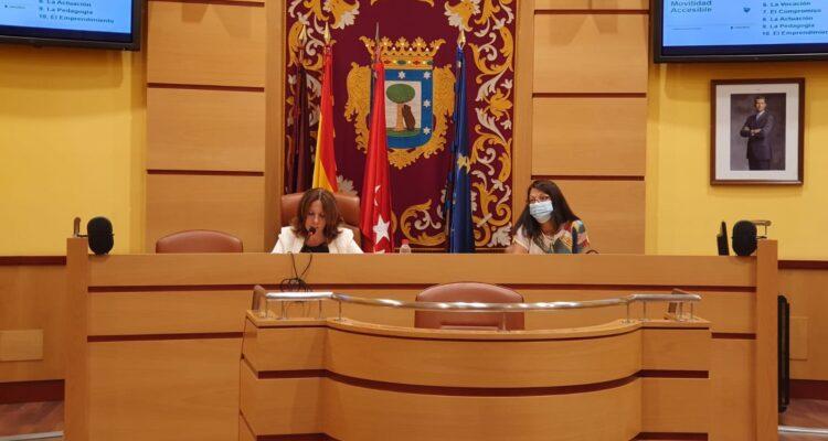 Concha Chapa renueva el compromiso del manifiesto de movilidad accesible