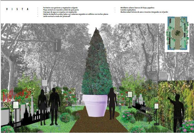 Propuesta de jardín efímero CESPA