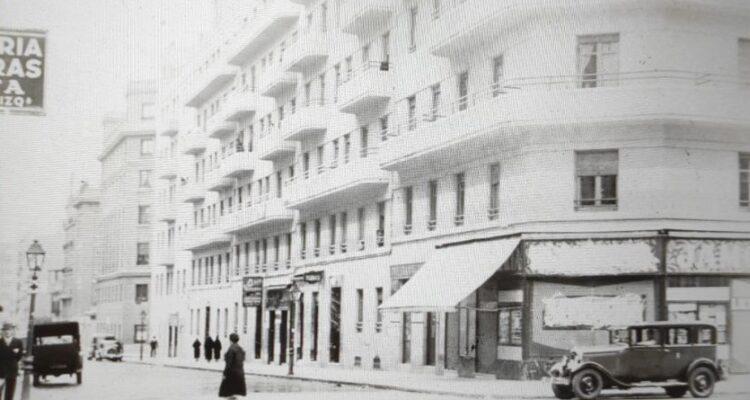 Calle Lope de Rueda en 1936