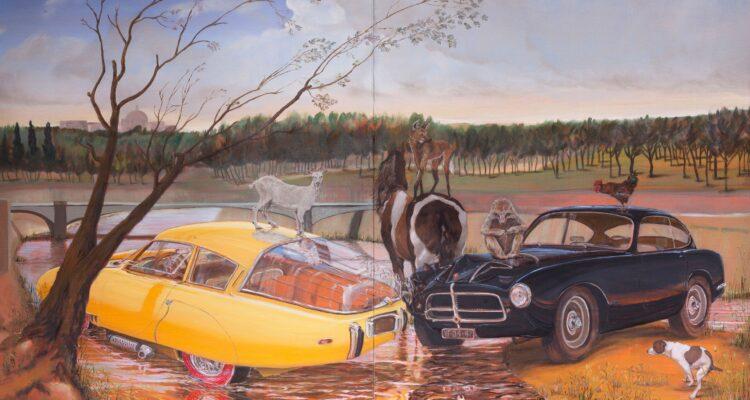 En el Manzanares. Galería Fernando Pradilla