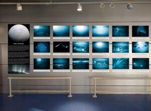 Imagen de la exposición `Viaje a Encélado´