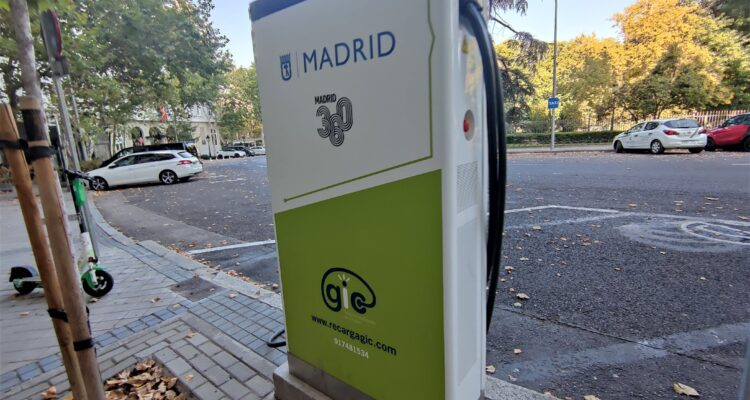 Punto de recarga vehículos eléctricos