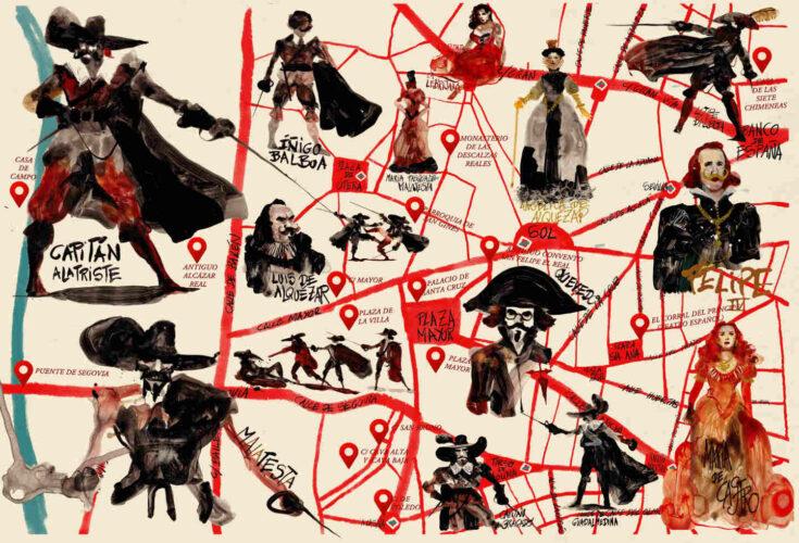 Mapa Cultural Ilustrado del Capitán Alatriste