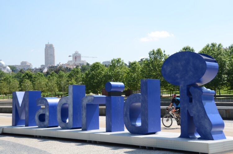Madrid Río escultura
