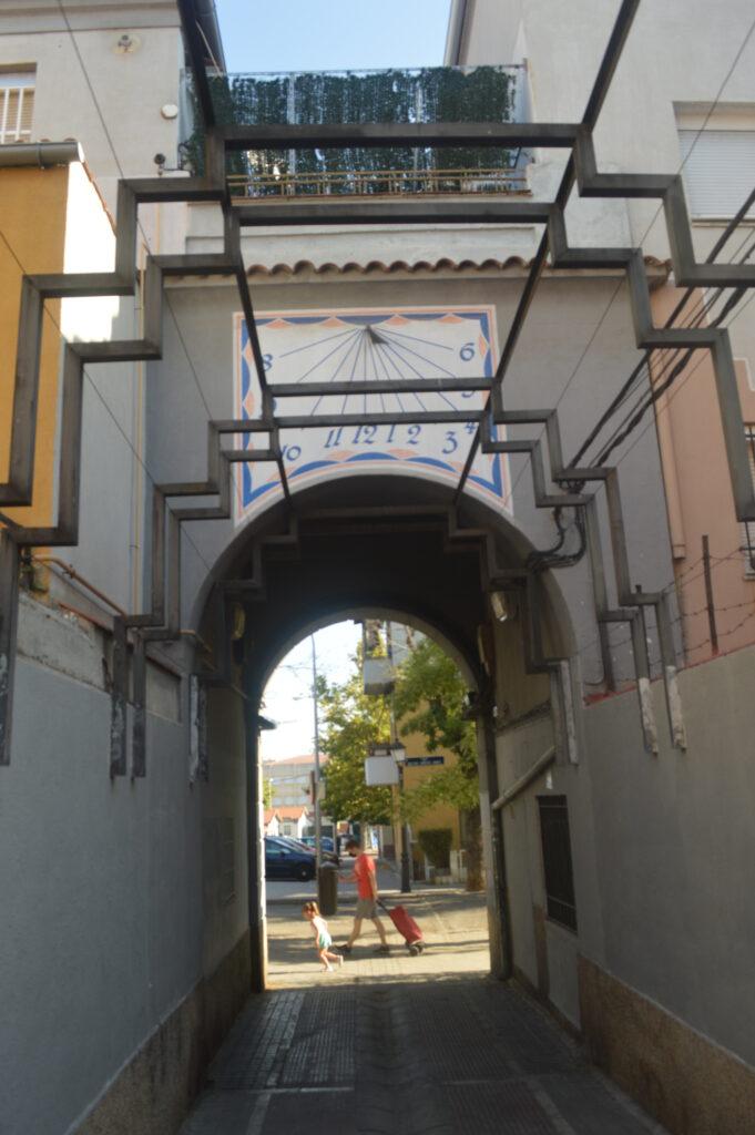 Pasadizo entre calles Goyeneche y General Marvá