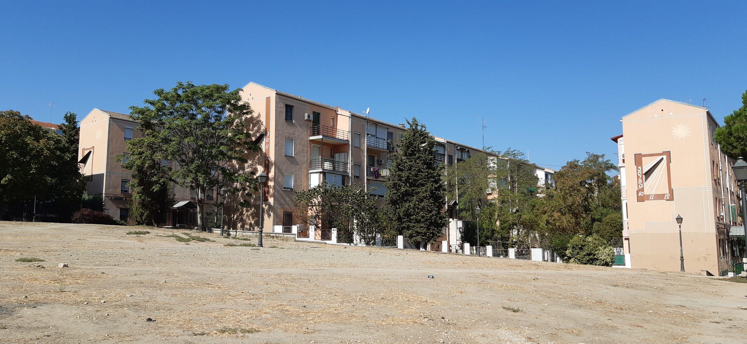 Vista de los tres relojes de la zona de la calle Calesas