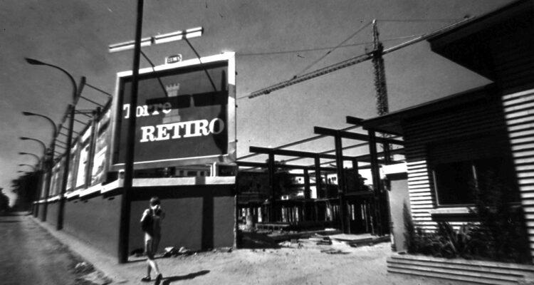 Torre de Retiro en construcción (1969)