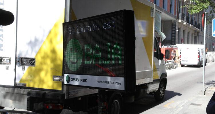 Control de emisiones vehículos