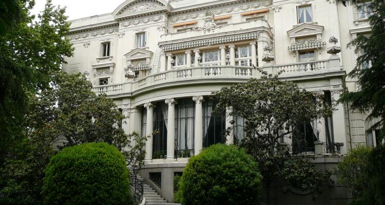 Embajada de Italia, en el corazón del barrio de Salamanca