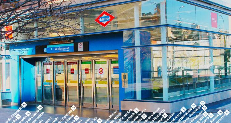 Un desarrollo bien comunicado. Estación de Metro