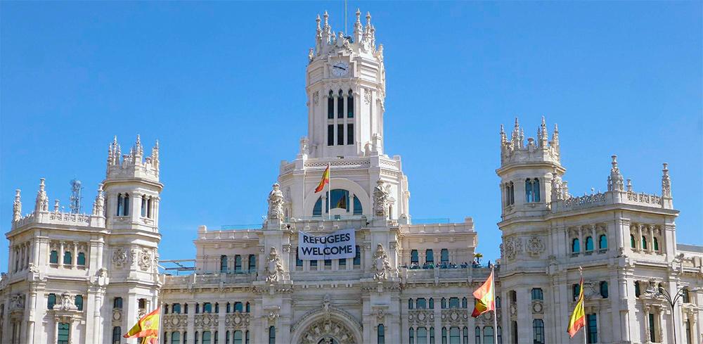 Palacio de las Comunicaciones en la Plaza de la Cibeles, sede del Ayuntamiento de Madrid.