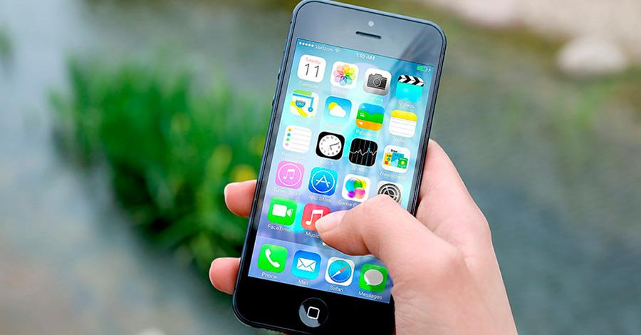 Aplicaciones en un móvil