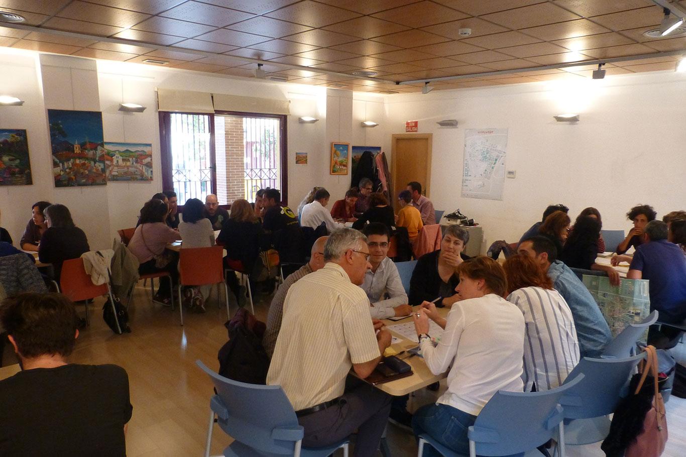 taller de mapeo de iniciativas en Vicálvaro