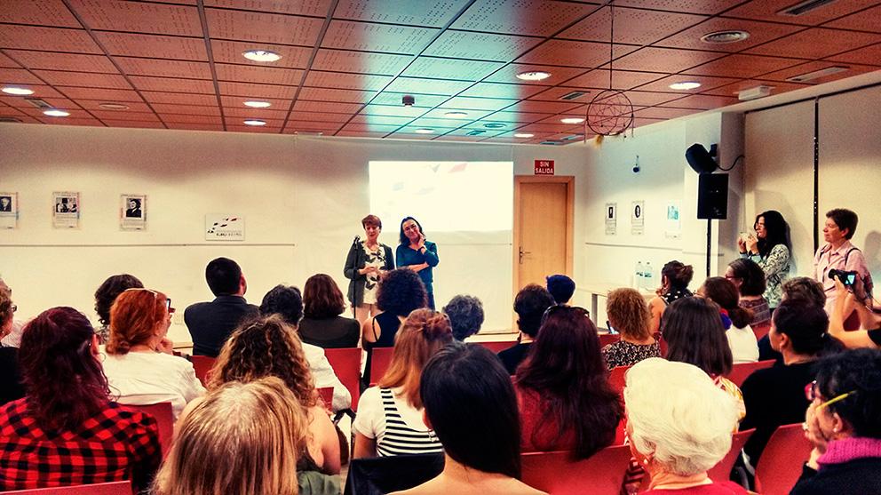 inauguración Espacio Igualdad Gloria Fuertes Vicálvaro